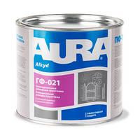 Aura ГФ-021 2,8 кг, черная - Универсальная алкидная грунтовка с антикоррозионным эффектом