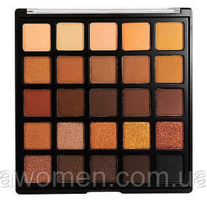 Тени для глаз Morphe 25 Color Copper Spice Eyeshadow Palette 25A - Limited Edition
