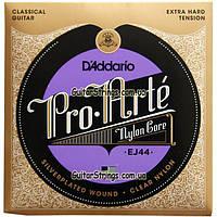 Струны D'addario EJ44 Pro Arte Extra Hard Tension 29-45