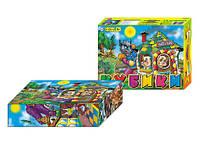 """Кубики в картон.упаковке 12 кубиков (47) ассорти """"ИНТЕЛКОМ"""" [коробка]"""