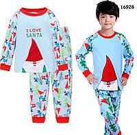"Піжама ""I Love Santa"" для хлопчика. 100, 120, 130 см"