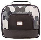 Коляска 2 в 1 Adamex Luciano jeans Q217 графит - мозайка (черная, хаки, белая), фото 6