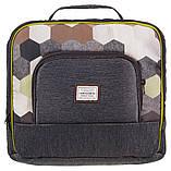Коляска 2 в 1 Adamex Luciano jeans Q215 графит - мозайка (черная, коричневая, белая), фото 6