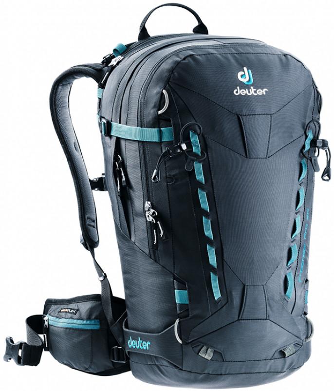 Рюкзак туристический Deuter Freerider Pro 30 3303417 7000, 30л. черный
