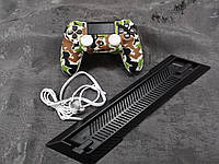Darius Box V4 - Набор чехол + 2 накладки + наушники + подставка  для Playstation 4