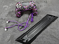 Darius Box V5 - Набор чехол + 2 накладки + наушники + подставка для Playstation 4