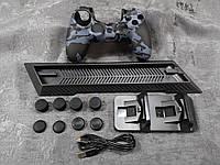 Darius Box V7 - Набор  1 чехол + 8 накладок + подставка + зарядная станция для Playstation 4