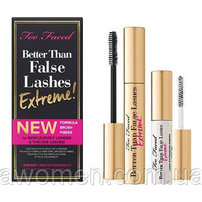 Туш Too Faced BETTER THAN FALSE LASHES EXTREME!