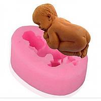 Молд малыш, спящий младенец, фото 1