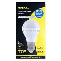 Светодиодная лампа ENERGO+ E27 7W