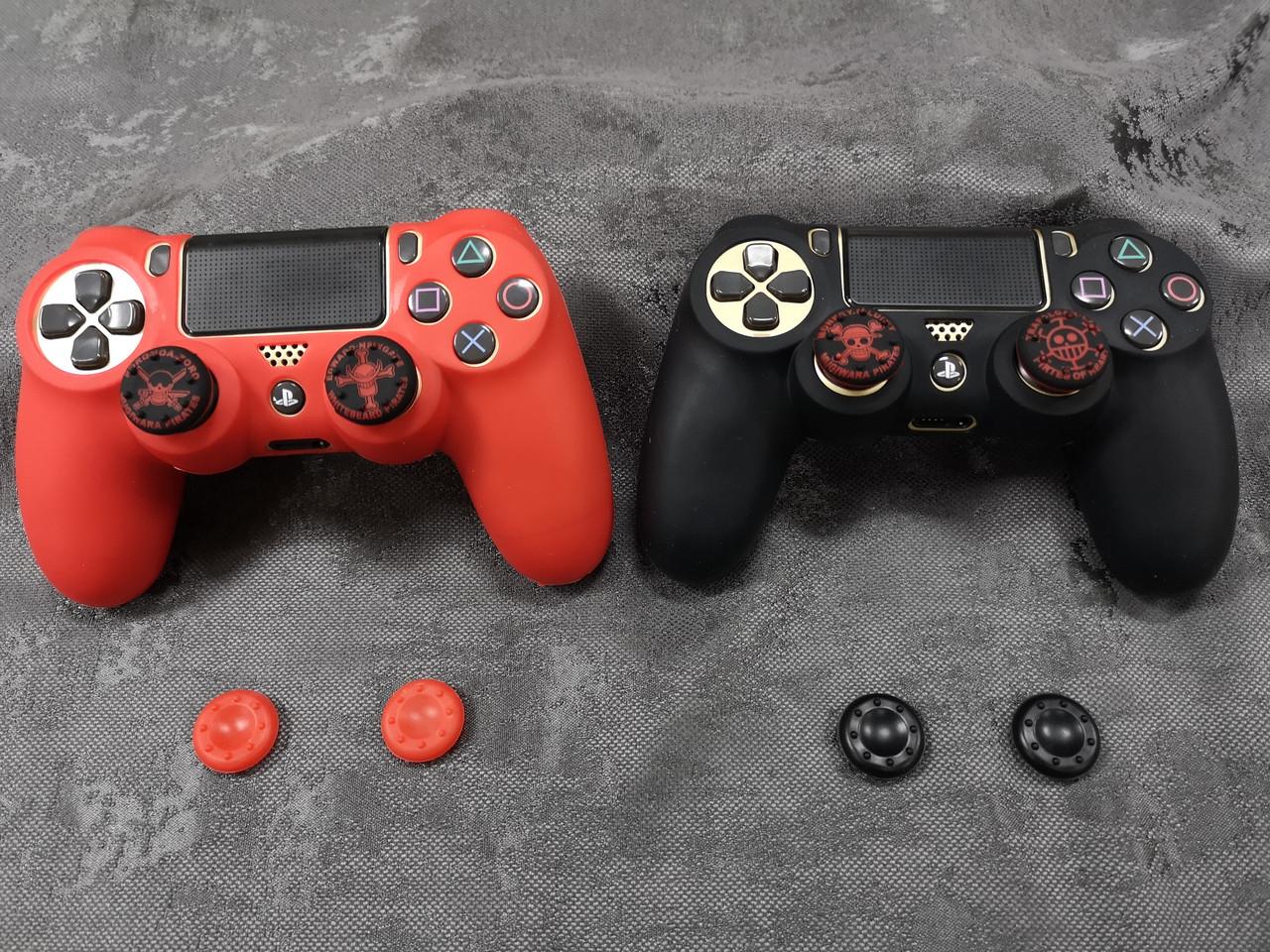 Darius Box V11 - Набор  2 чехла + 8 накладок  для Playstation 4