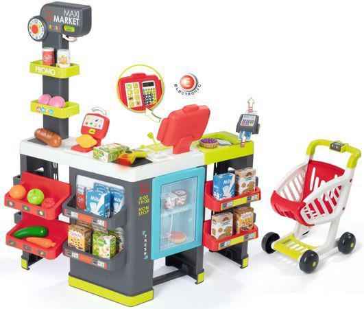 Супермаркет игровой набор Maxi Market Smoby 350215