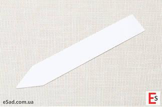 Етикетки-кілочки для рослин PET-R білі 1,6 х 10 см, 500 шт, фото 2