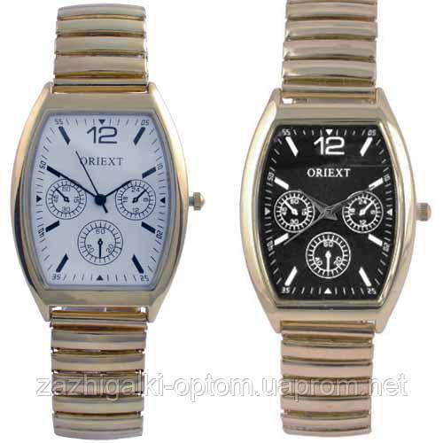 Часы наручные 4402 мужские квадрат золото