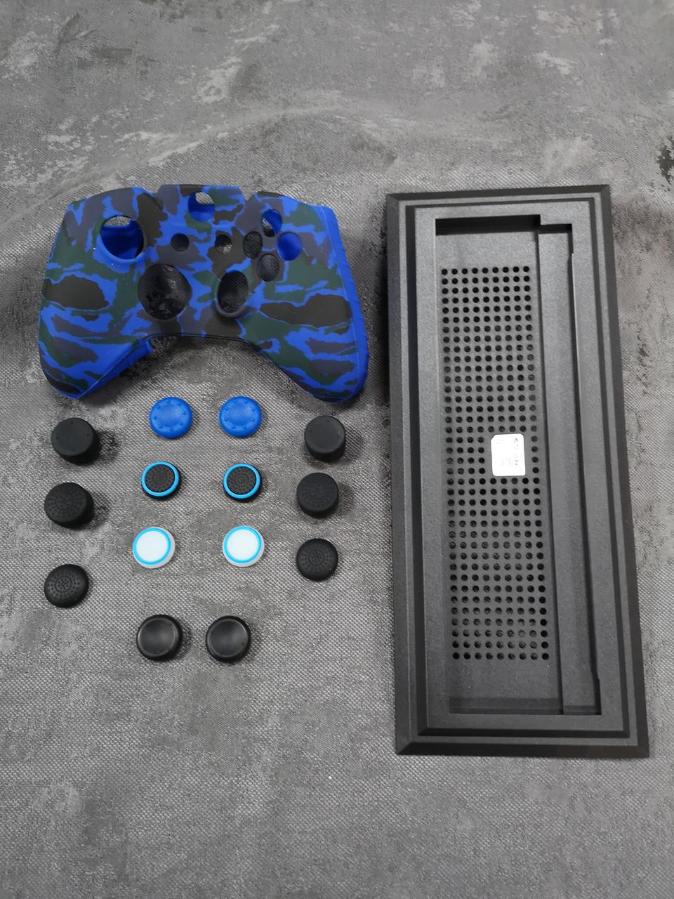 Darius Box V20 - Набор 1 чехол + 14 накладок + подставка для Xbox One