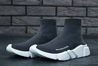 Женские кроссовки Balenciaga Speed Trainer Grey/White 36