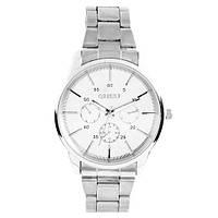 Часы наручные 1050 Круг муж. белый