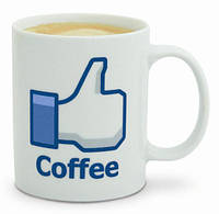 Чашка Фейсбук, фото 1