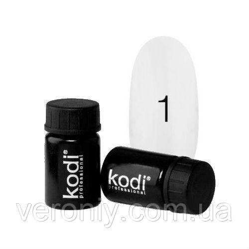 Kodi гель краска  01 (белая)