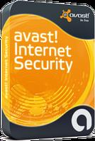 Avast! Internet Security 1 год 3 ПК код активации