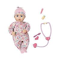 Интерактивная кукла BABY ANNABELL - ДОКТОР (43 см, с аксессуарами)***