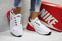 Кроссовки женские белые с красным Nike Air Max 6030
