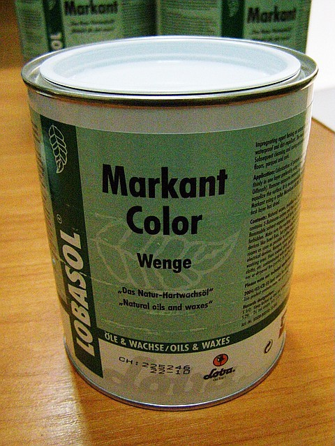 LOBA Масло-воск Лоба Маркант 0,75л бесцветное