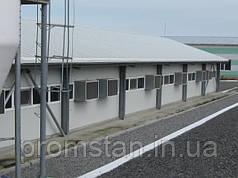 Строительство животноводческих комплексов. Свиноферма.
