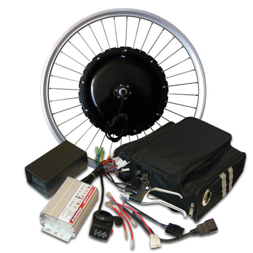 Электронабор для установки на велосипед 48V1000W Стандарт 24 дюйма задний