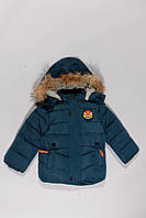 Зимняя удлиненная куртка для мальчика (86-110)