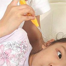 Устройство для чистки ушей ухочистка с подсветкой с одной насадкой