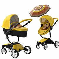 Детская коляска Mima Xari Yellow Limited Edition, фото 1