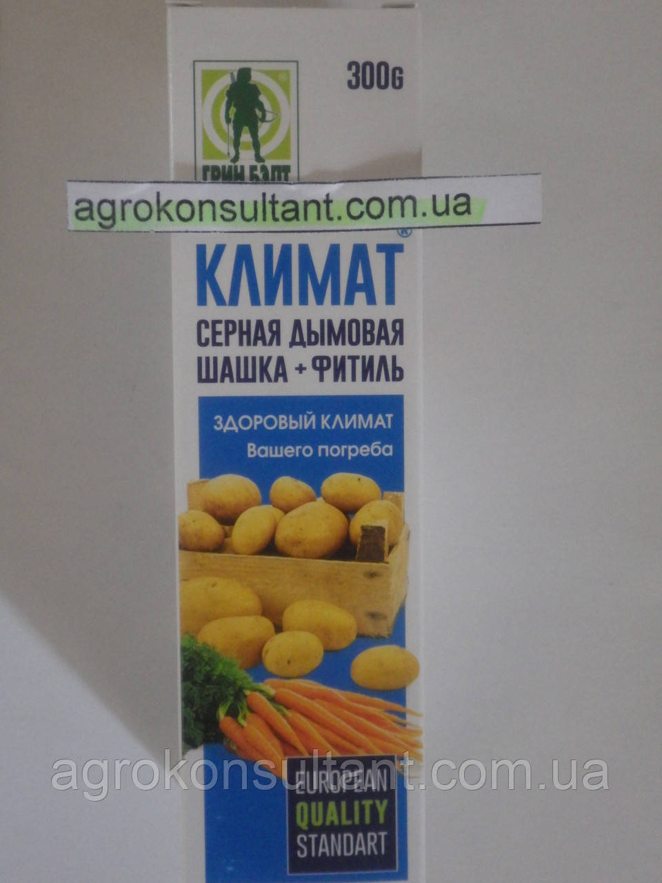 "Серная дымовая шашка ""КЛИМАТ"" 300 г."