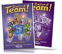 Oxford Team 3, Student's book + Workbook / Учебник + Тетрадь английского языка