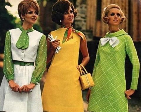 Мода 70е