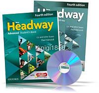 New Headway Advanced, Student's book + Workbook + CD / Учебник + Тетрадь английского языка