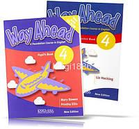 Way Ahead 4, Pupil's book + Workbook + CD / Учебник + тетрадь английского языка