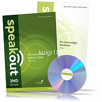 Speakout Pre-Intermediate, Student's book + Workbook + DVD / Учебник + Тетрадь английского языка