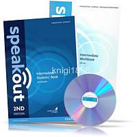 Speakout Intermediate, Student's book + Workbook + DVD / Учебник + Тетрадь английского языка