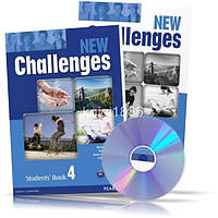 New Challenges 4, Student's book + Workbook / Учебник + Тетрадь английского языка