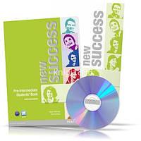 New Success Pre-Intermediate, Student's book + Workbook + CD / Учебник + Тетрадь английского языка