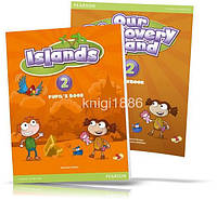 Islands 2, Pupil's book + Activity Books + Pincode / Учебник + Тетрадь английского языка