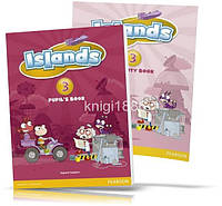 Islands 3, Pupil's book + Activity Books + Pincode / Учебник + Тетрадь английского языка