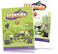 Islands 4, Pupil's book + Activity Books + Pincode / Учебник + Тетрадь английского языка