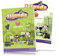 Islands 4, Pupil's book + Activity Books + Pincode / Учебник + Тетрадь английского языка