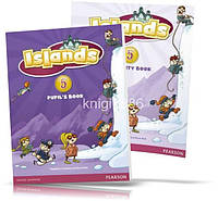 Islands 5, Pupil's book + Activity Books + Pincode / Учебник + Тетрадь английского языка