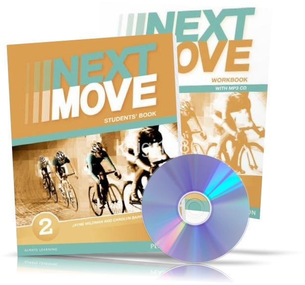 Английский язык   next move   student's+workbook. Учебник+тетрадь.