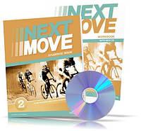 Next Move 2, Student's book + Workbook / Учебник + Тетрадь английского языка