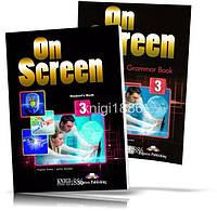 On Screen 3, Student's book + Workbook / Учебник + Тетрадь английского языка