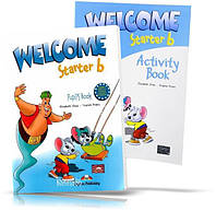 Welcome Starter B, Pupil's book + Workbook / Учебник + Тетрадь английского языка